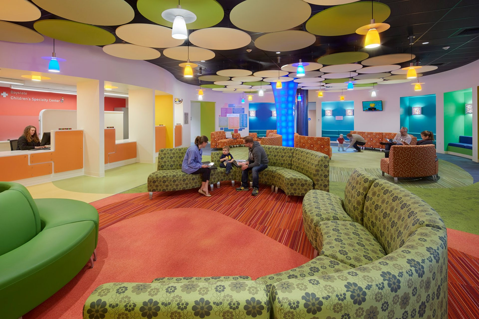 Baystate Children S Specialty Center Bsa Design Awards