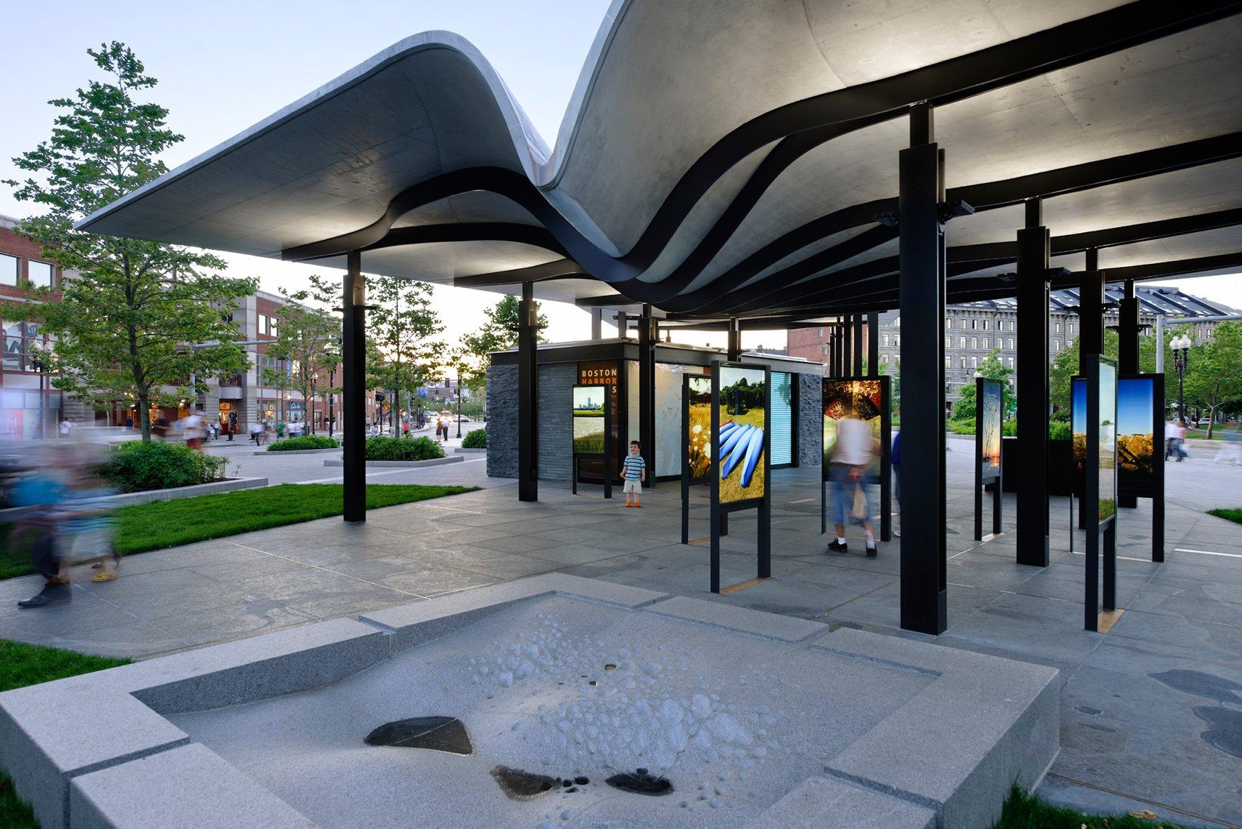 Maple Kitchen Ideas Boston Harbor Islands Pavilion Bsa Design Awards