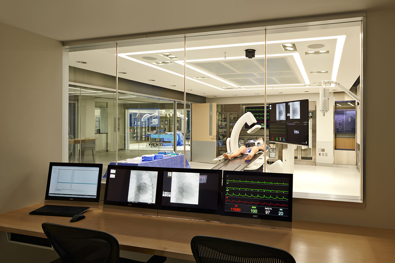Mdco medical simulation center bsa design awards for Architecture and interior design