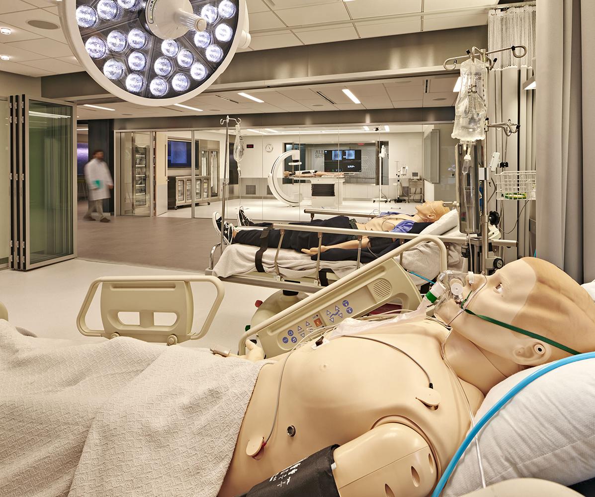 mdco medical simulation center  u2014 bsa design awards