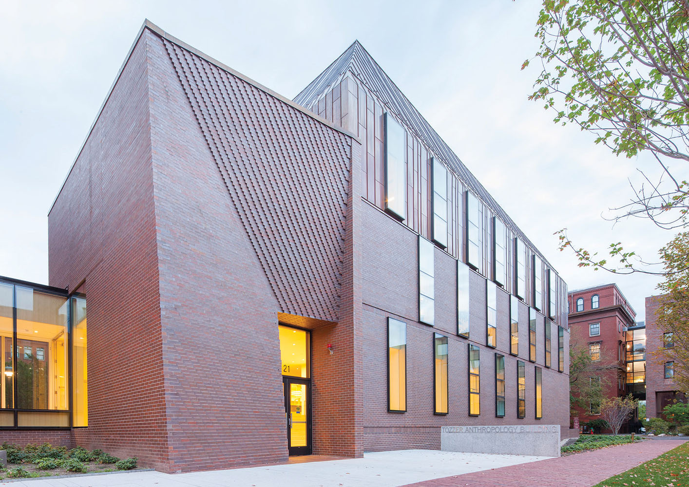 Tozzer Anthropology Building, Harvard University