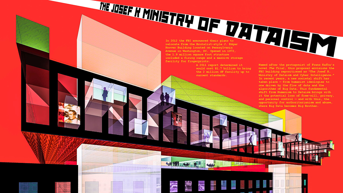 FBI Headquarters Repo/Hack: The Josef K. Ministry of Dataism and Cyber Intelligence