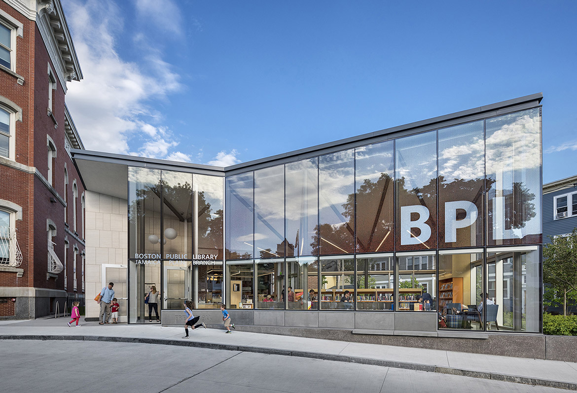 Jamaica Plain Branch of the Boston Public Library Renovation & Addition