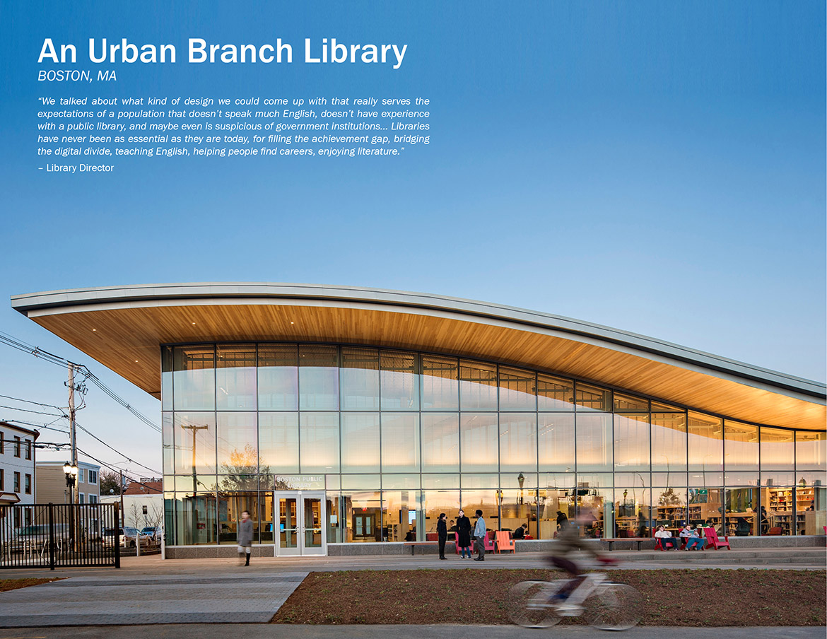 East Boston Branch Library, Boston Public Library